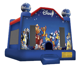 Disney for kids bouncy house rental in Orlando and Tampa