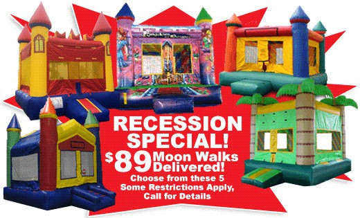 Bounce House Rental from Xtreme Jumpers & Slides