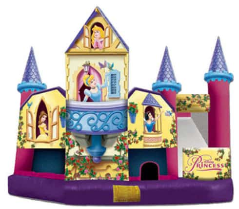 Disney Princess Inflatable 5 in 1 Combo Unit