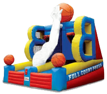 Basketball Hoops inflatable for rent