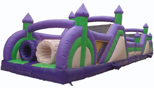 Bouncy Castle Obstacle Course for rent