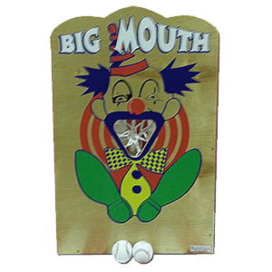 big mouth carnival game rental