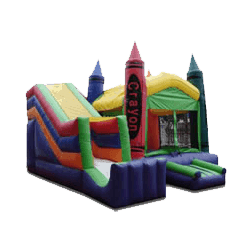 Crayon combo bouncer rental