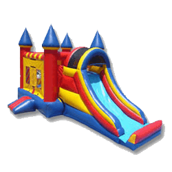 Large 3-in-1 jumper bounce house rental
