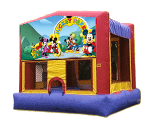 Mickey Mouse cluhouse jumper bounce house rental