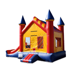 Mini 3-in-1 jumper bounce house rental