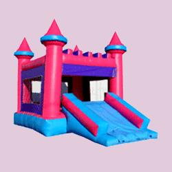 Princess Castle combo bouncer rental
