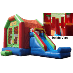Slam Dunk & Fun 6 in 1 combo bouncer rental