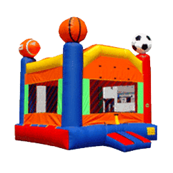 Sports Arena combo bouncer rental
