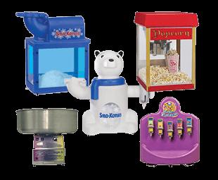 Children's Party Service - Concessions Equipment rental