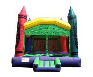 Crayon Bounce House rental