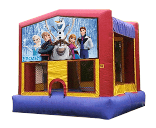 Frozen bouncehouse rental