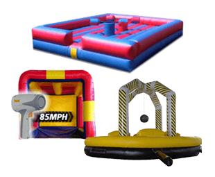 Children's Party Service and Inflatable Game Rentals