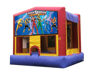 Power Rangers bouncehouse rental