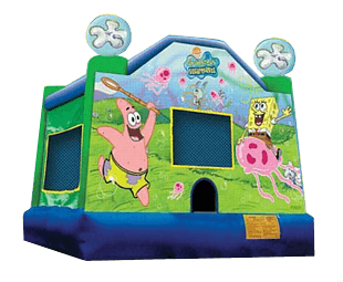 Sponge Bob Square pants bounce house rental