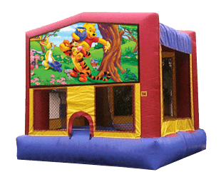 Winnie the Pooh bouncehouse rental