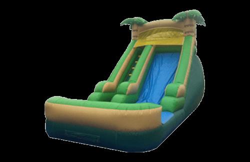 16 Foot Tropical dry slide rental