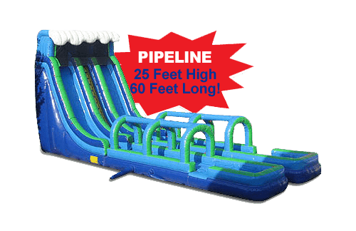 Pipeline dry slide rental