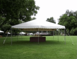 Image 20 x 20 foot Tent Rental