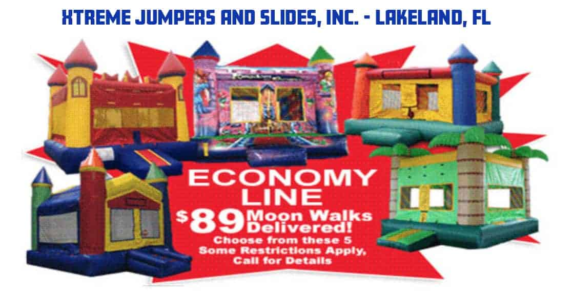 bounce house rentals lakeland fl