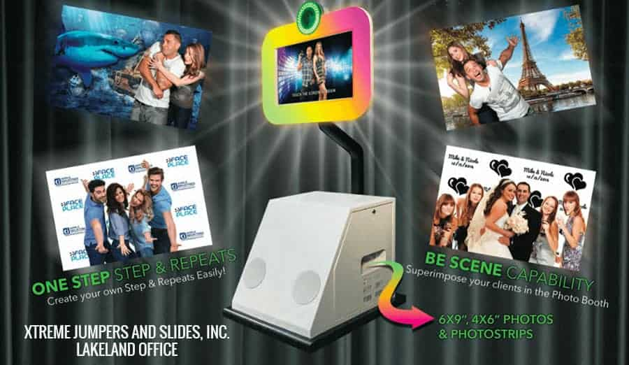 photo booth rental lakeland fl by Xtreme Jumpers and Slides