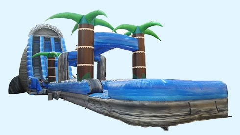 Photo Of Rocky Fall Water Slide Rental