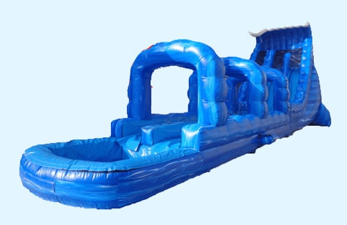 Photo of Blue Crush Water Slide Rental inflatable