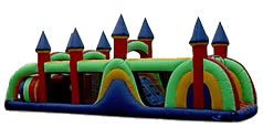 48' Obstacle Course Bouncer for rent