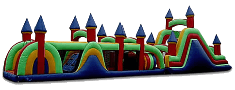68' Deluxe Obstacle Course Bouncer for rent