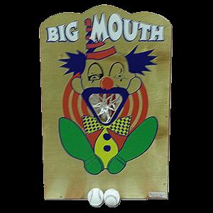 big mouth carnival game rental