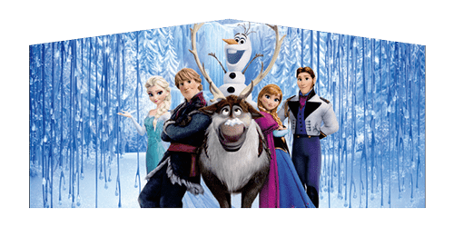 Frozen themed panel for Bouncer