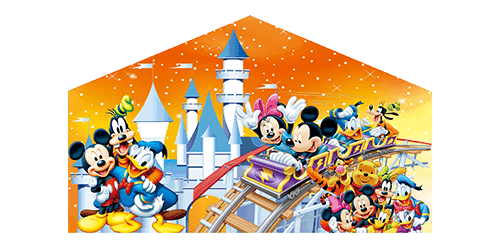 Mickey Rollercoaster panel for Jumper