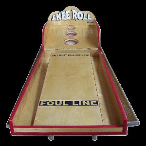 Skee Roll carnival game rental