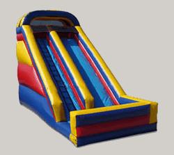 Inflatable 20 Ft Dry Slide Rental