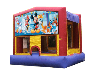 Mickey Mouse Bouncehouse rental