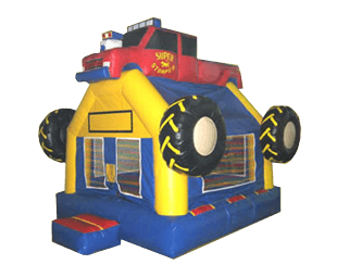 Monster Truck Bouncehouse rental
