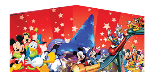 Disney Characters panel for Jumper