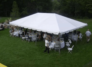 Image of wedding tent rental