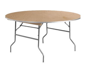 "60"" Round Table for Rent"