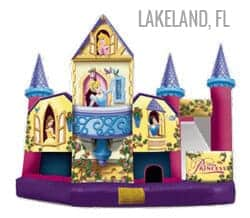 disney princess bounce house rentals lakeland fl