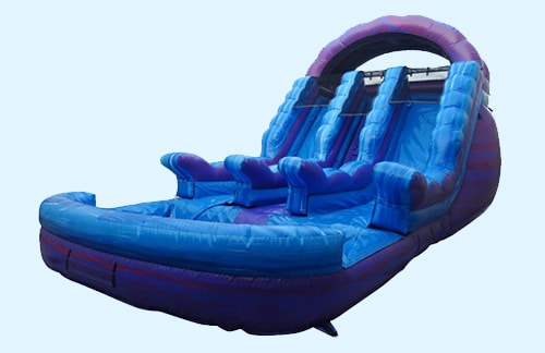 Image of Purple Hulk Water Slide rental inflatable