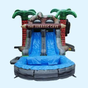 photo of Jurassic Cave Combination Dry & Water Slide rental
