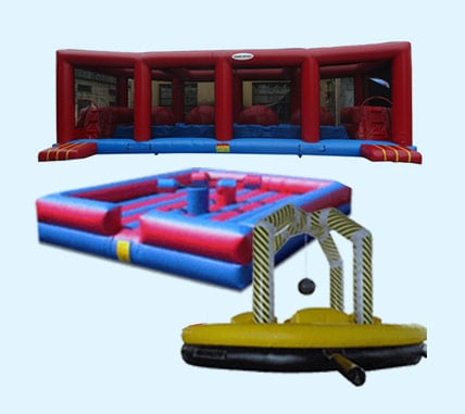 Photo of Inflatable games rentals by Xtreme Jumpers and Slides, Inc.