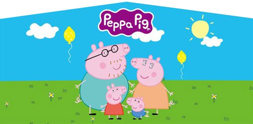 Photo of Pepa Pig bounce house rental theme