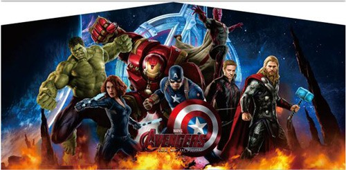 Photo of Avengers Bounce House rental theme