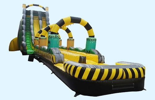 image of Toxic Typhoon Water slide rental inflatable